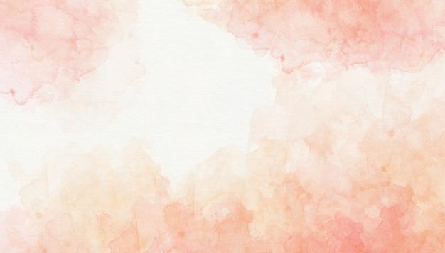 カラフルなピンクの水彩画の背景