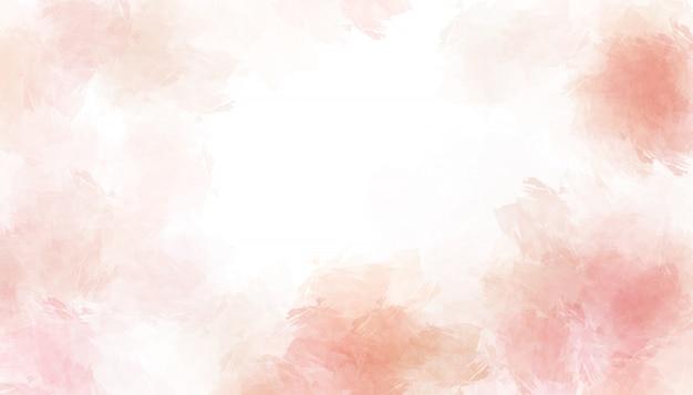 Розовая акварель окрашены бумаги текстуры фона.
