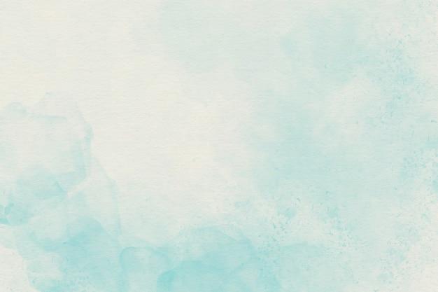 水色の水彩ソフト背景