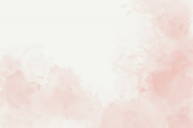 水彩の柔らかいピンクの抽象的な背景