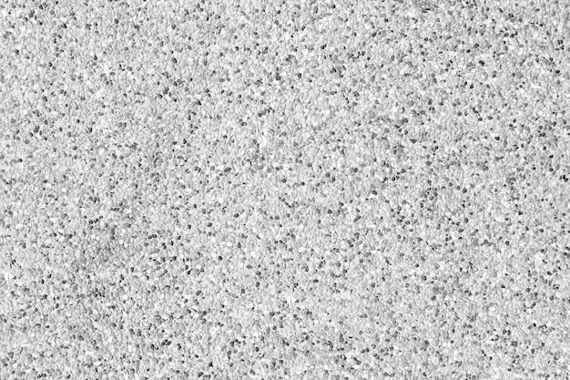 白い混合黒い石の背景。