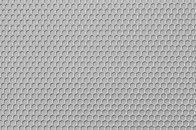 白い模様の金属の表面はテーブル背景です。
