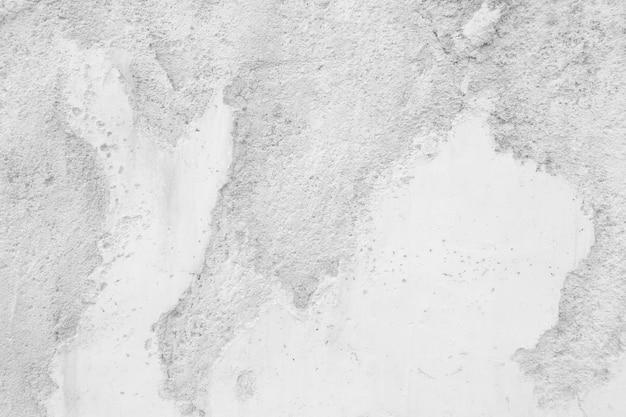 汚れた白いセメントの壁