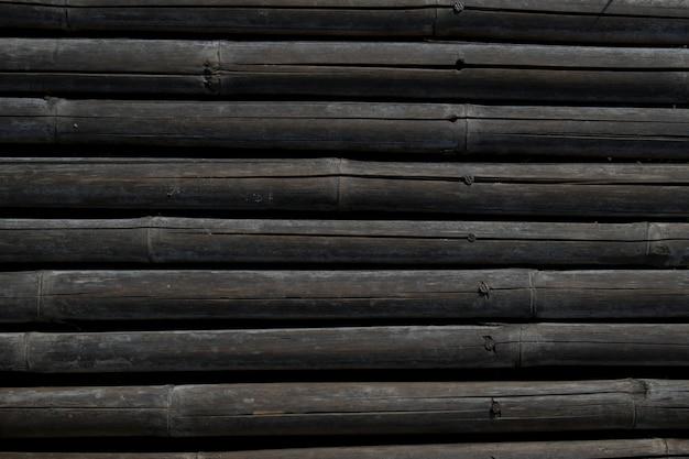 乾燥竹の壁