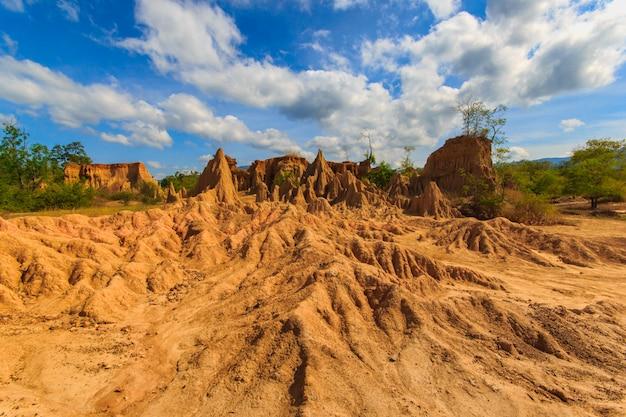 土壌侵食は奇妙な形を生み出しています