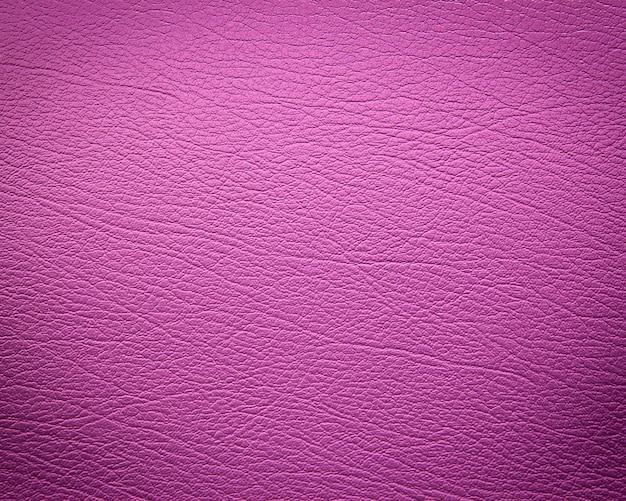 ピンクの革のテクスチャ背景