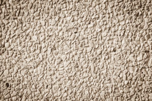 セメントの茶色のレンガ壁の背景