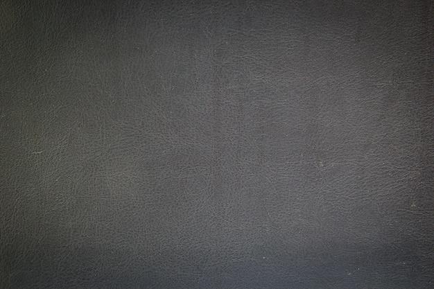 古い黒革のテクスチャ背景
