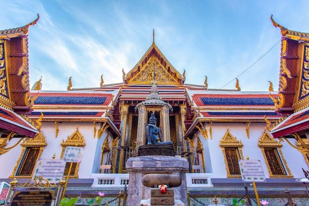 タイ、バンコクのワットプラケオ古代寺院