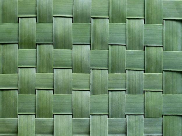 バナナのパターン織り