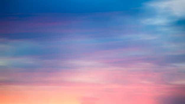 Размытый фон восход