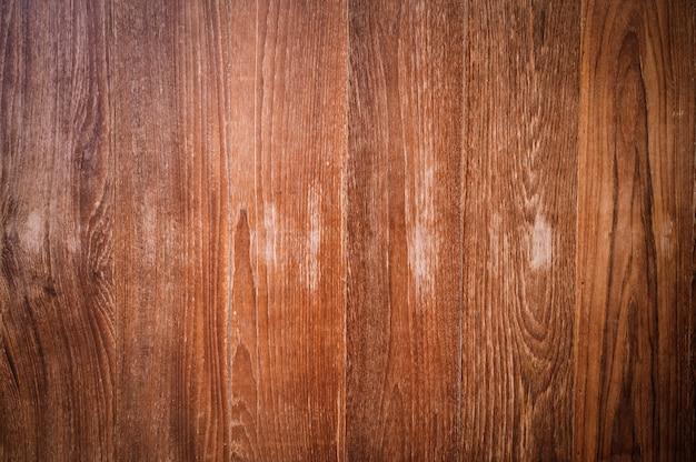 デザインと装飾の自然なパターンを持つチーク木目テクスチャ背景
