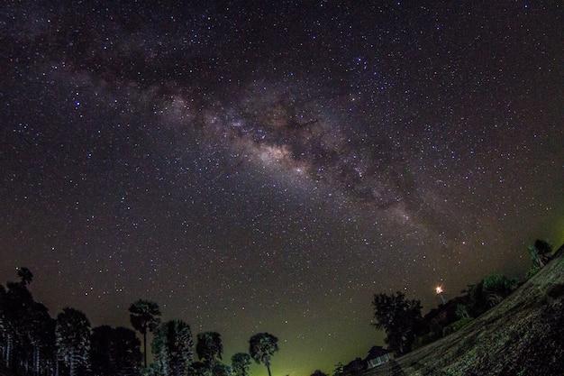 夜空に天の川