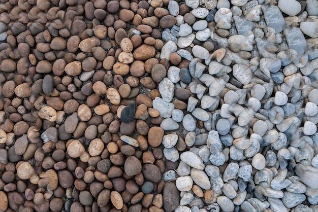 色とりどりの石の背景