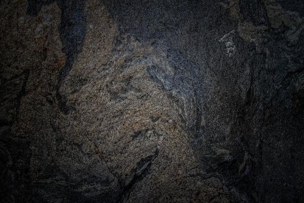 黒い石の抽象的な背景のテクスチャ