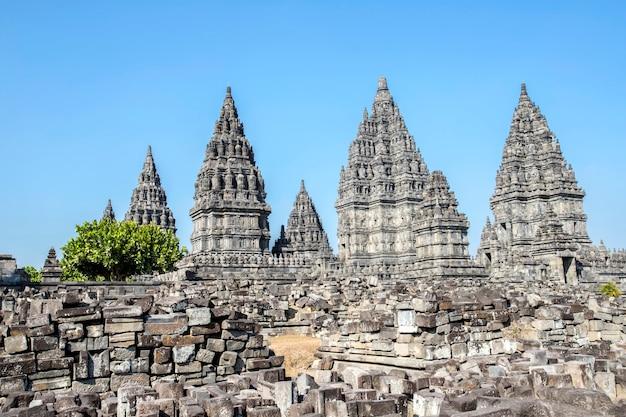 インドネシア、ジャワ島のジョグジャカルタのプランバナン寺院