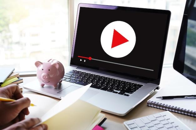 ビデオマーケティングオーディオビデオ、市場インタラクティブチャンネル、ビジネス