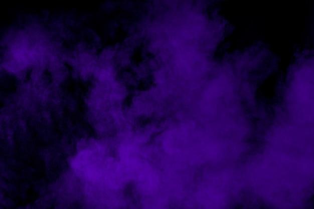 Фиолетовый порошок взрыв в темноте