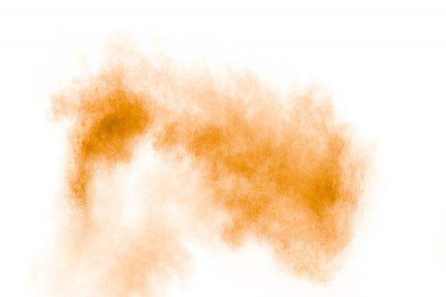 Желтый порошок взрыв