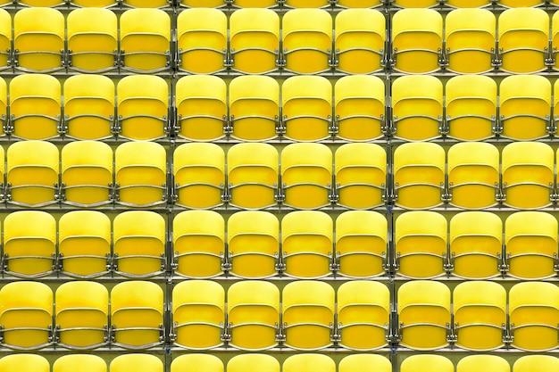 スタジアムの座席
