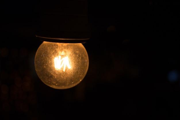 ランプで照らされた背景