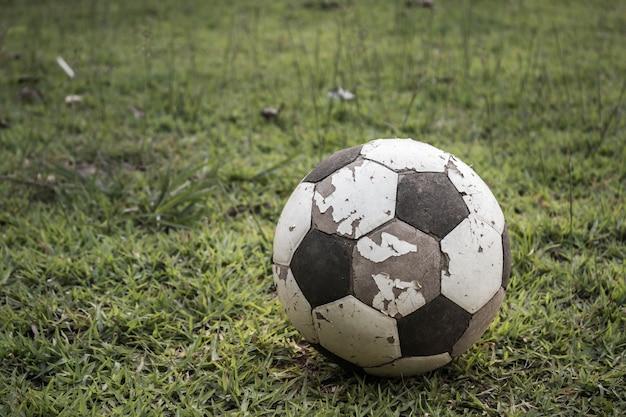 古いサッカー