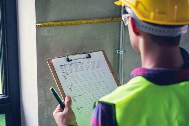 エンジニア&建築家の仕事の家の建物についてフォアマン監督の検査官の欠陥