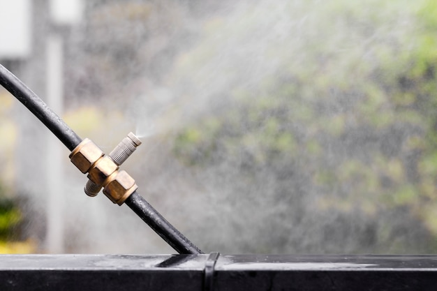 Распылительные насадки. оборудование для добавления влаги в саду.