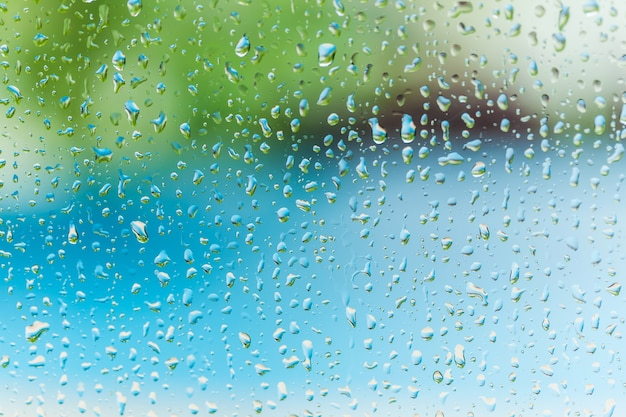 カラフルな水滴の背景