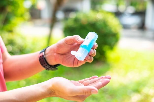 Гель-дезинфицирующее средство для рук с этанолом