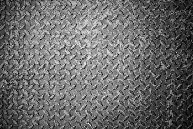 グランジダイヤモンド金属または鋼のテクスチャ背景