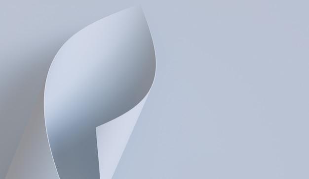 白い紙アート背景のテクスチャのコピースペース。