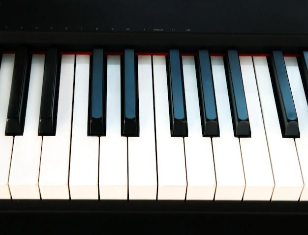 ピアノの鍵の背景