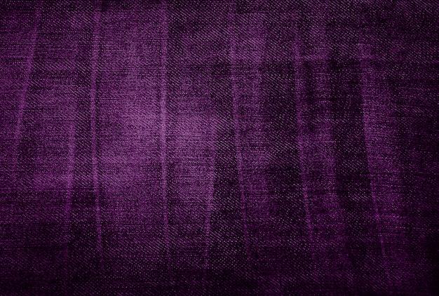 紫色のビンテージ布の質感
