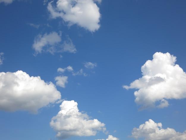 雲と夏の空