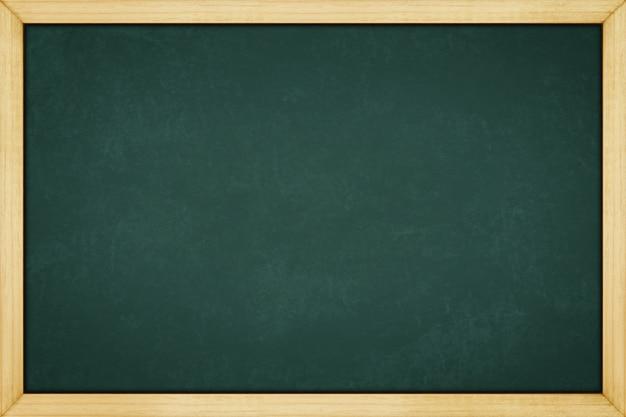 コピースペースを持つ背景テクスチャのための木製のフレームと黒板