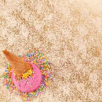 アイスクリームと夏