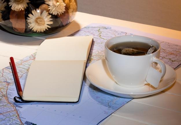 お茶と旅行プラン