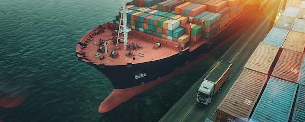 輸送および物流。