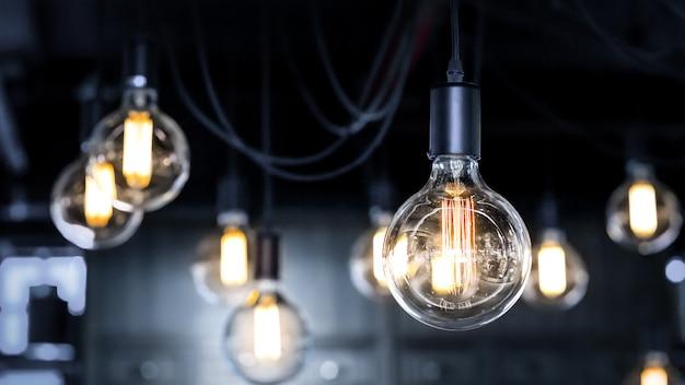 アンティークスタイルの電球