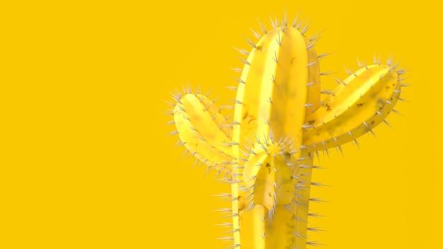 Кактус желтого цвета