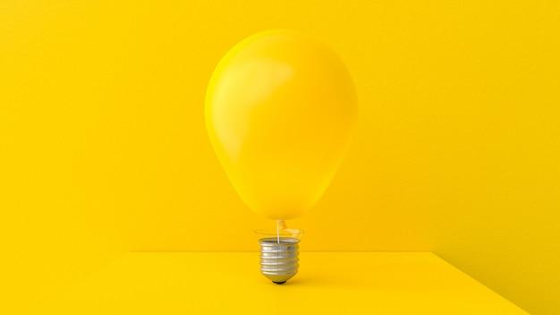 Желтый шарик в форме шарика