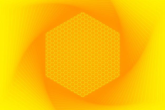 六角形の背景。