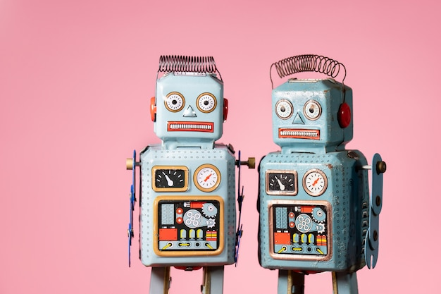 ヴィンテージブリキのおもちゃのロボット
