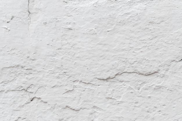 白いコンクリートの壁のテクスチャ