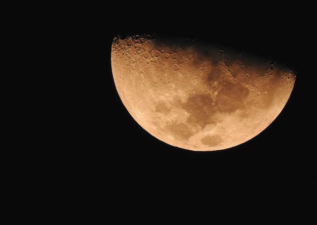 黄色い月の位相