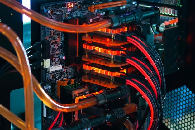コンピューターケースの変更