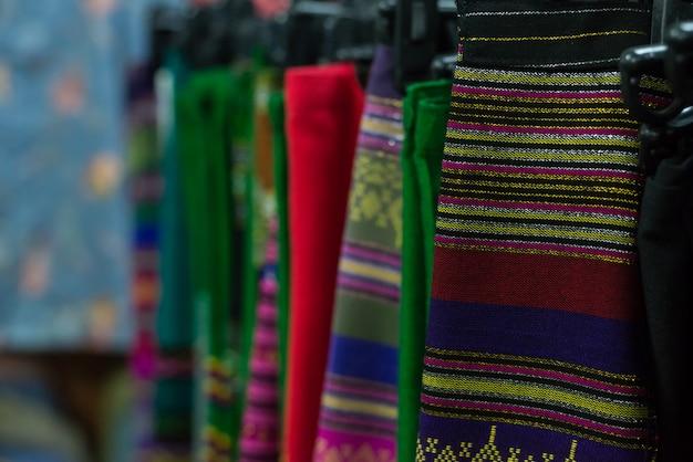 タイの伝統的な布