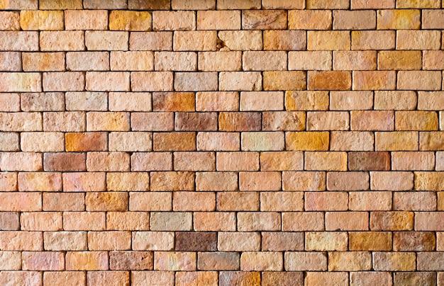 Фон из красной кирпичной стены текстуры