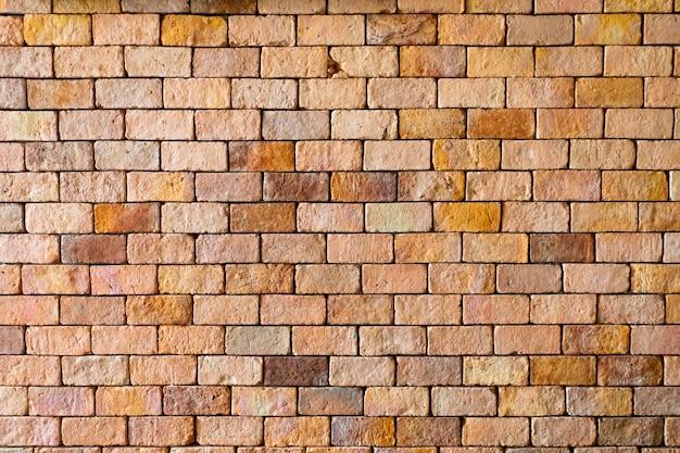 赤レンガの壁のテクスチャの背景